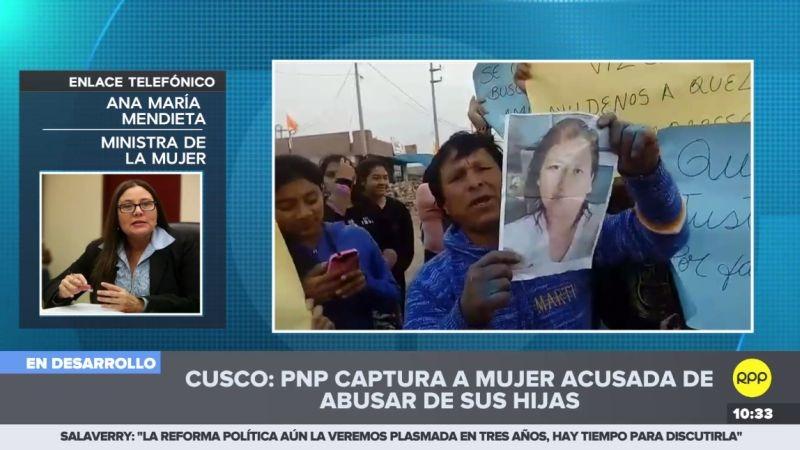 Ana María Mendieta habló con RPP Noticias desde Tumbes.
