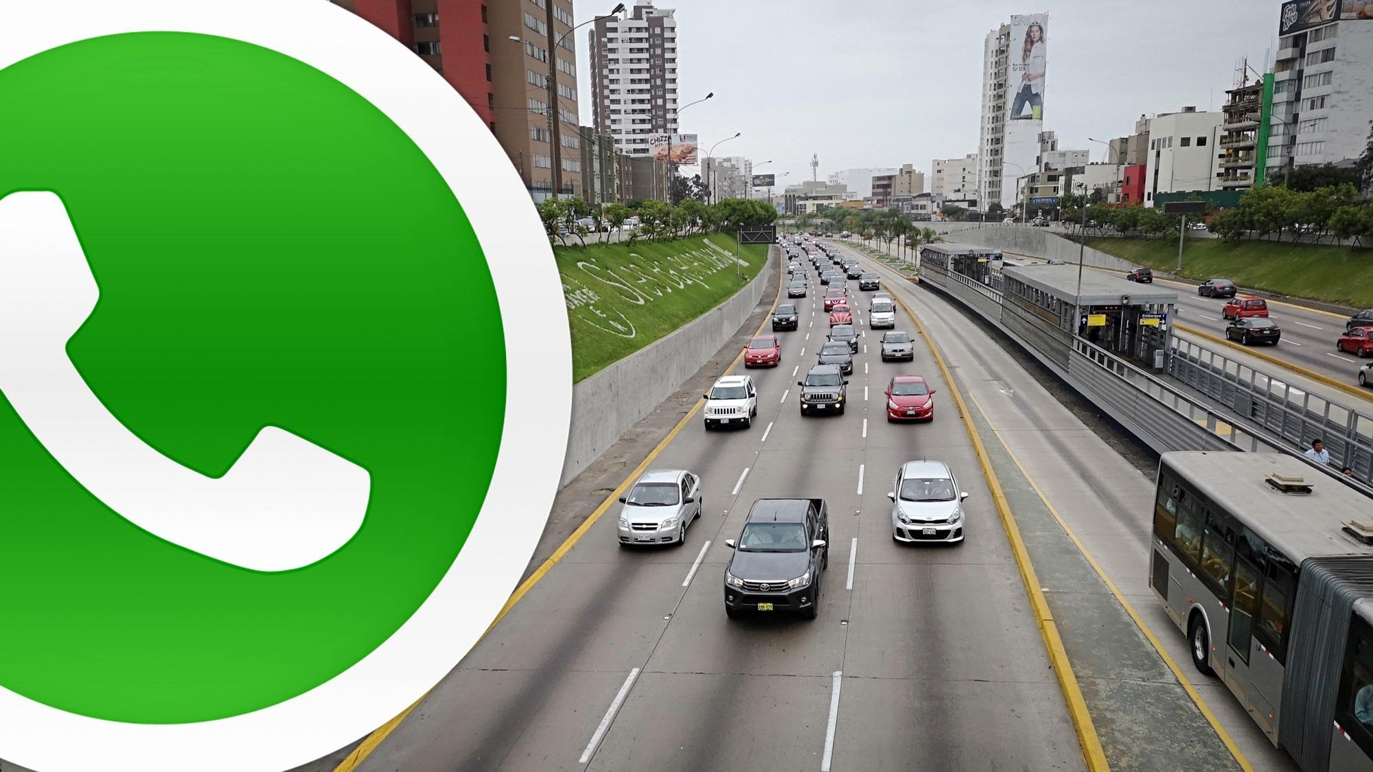 Así usan los taxistas de Lima la aplicación WhatsApp