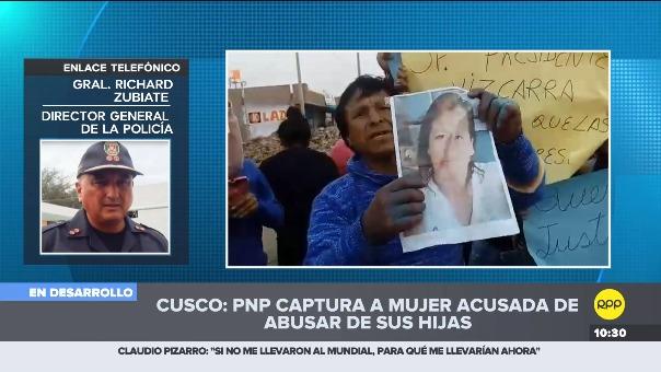 Policía capturó a madre de familia acusada de violación.