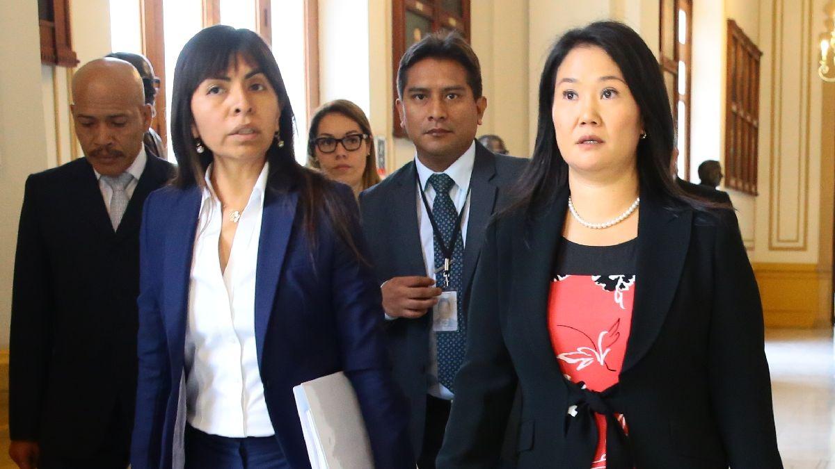 Poder Judicial evaluó las casaciones presentadas por Keiko Fujimori y Fuerza Popular.