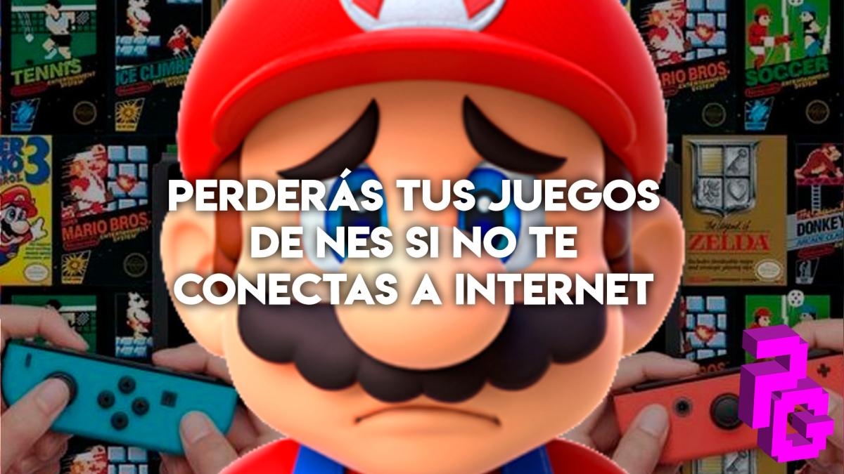Nintendo Switch Perderas Tus Juegos De Nes Si No Te Conectas A