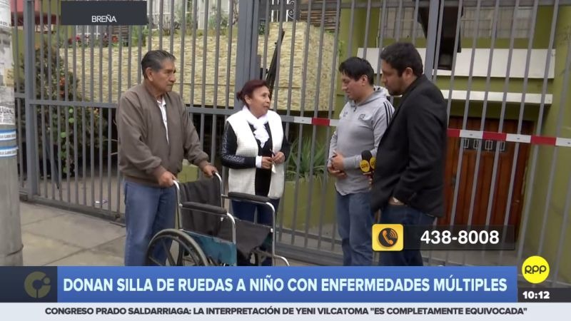 Ángel Huillcahuamán contó su caso a través del Rotafono de RPP Noticias.
