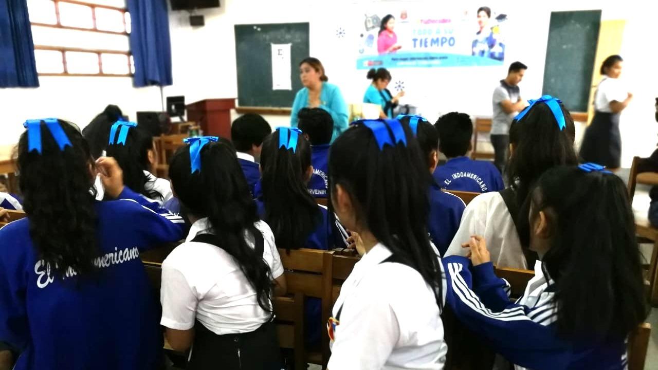 Ruth Haro Torres, encargada de Estrategia Adolescente del centro de salud de Río Seco.