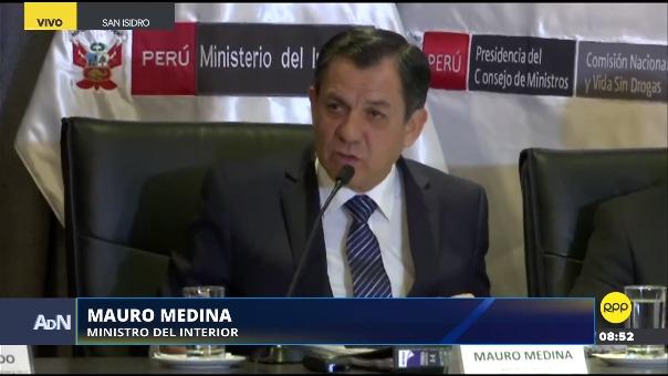 Mauro Medina, ministro del Interior, sobre los hechos de violencia en Matute.