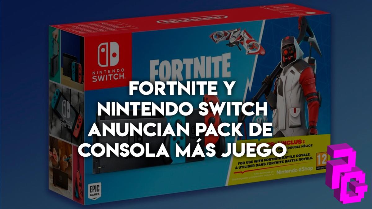 Nintendo La Nueva Switch Llega Personalizada Con Fortnite Rpp