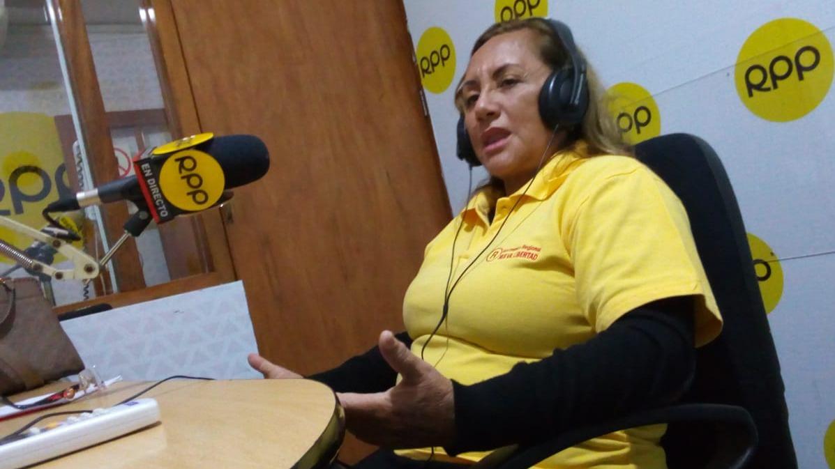 La empresaria y profesora, Rosa Ñúñez.