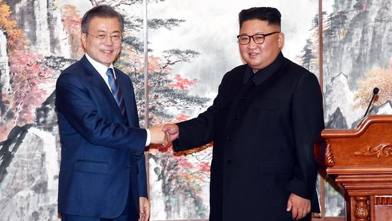 La propuesta fue planteada durante el tercer encuentro que los líderes coreanos están celebrando en la capital de Corea del Norte.