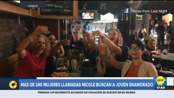 Las chicas crearon el grupo en Facebook:  Nicole From Last Night.