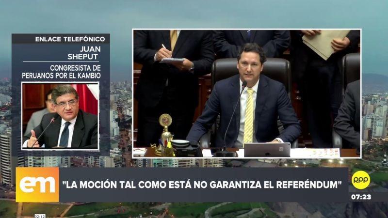 Juan Sheput también respondió las declaraciones de Keiko Fujimori.