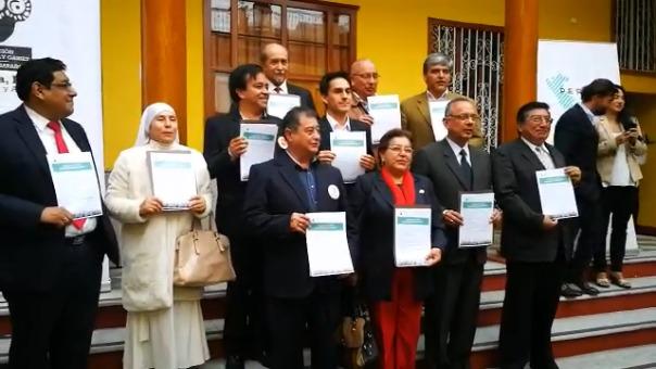 Postulantes de diversas agrupaciones dieron su palabra para ejecutar proyectos tecnológicos.