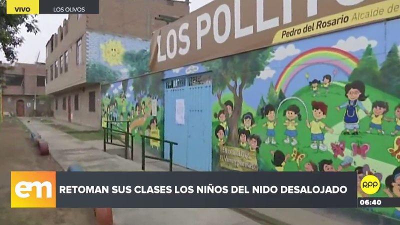 Los alumnos del nidoLos Pollitos perdieron dos días de clase por este incidente.