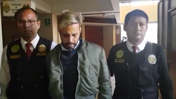 Giovanny Coley Días,  fue detenido en Arequipa y será enviado a su país.