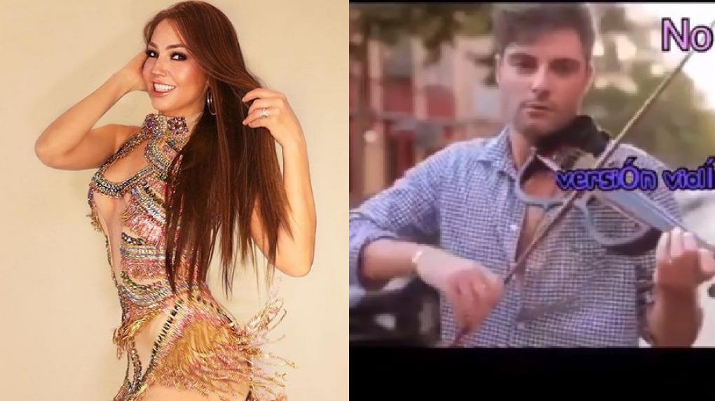 Thalía presentó peculiar versión de su tema