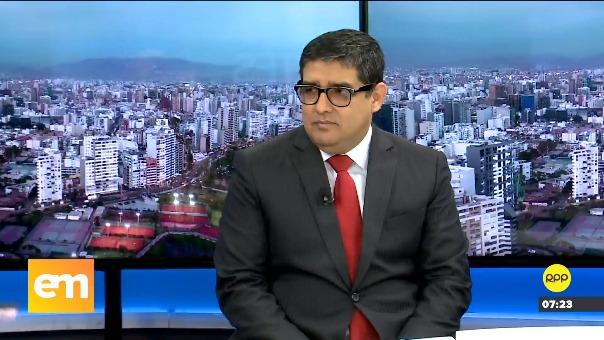El fiscal Rodríguez Monteza en RPP.