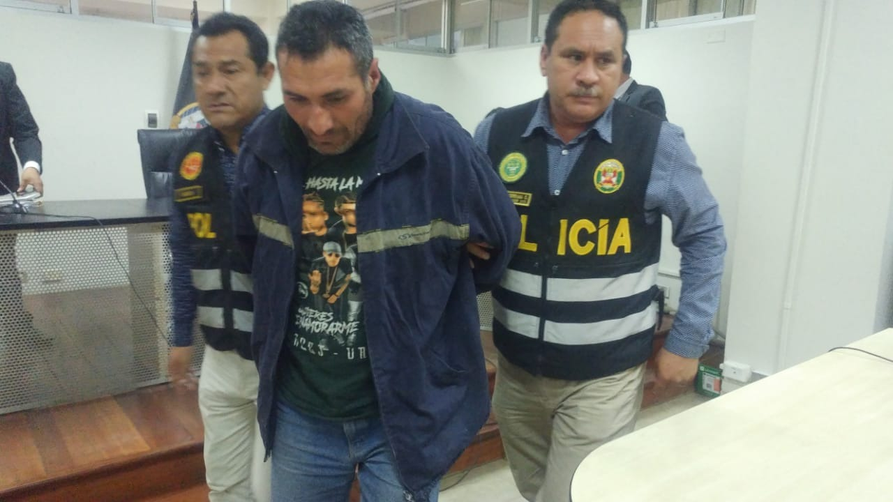Humberto Quispe fue trasladado al penal para varones El Milagro tras aprobarse el pedido de la fiscalía de 9 meses de prisión preventiva.