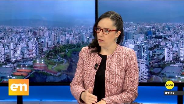Marisa Glave en Ampliación de Noticias.