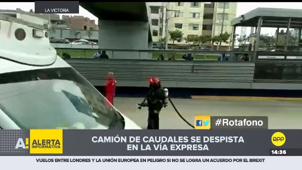 Un testigo contó a RPP lo que vio tras el accidente.
