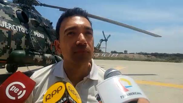 Antonio Gamonal, jefe de esta área protegida, dijo que se tiene controlado el 80 por ciento del incendio.