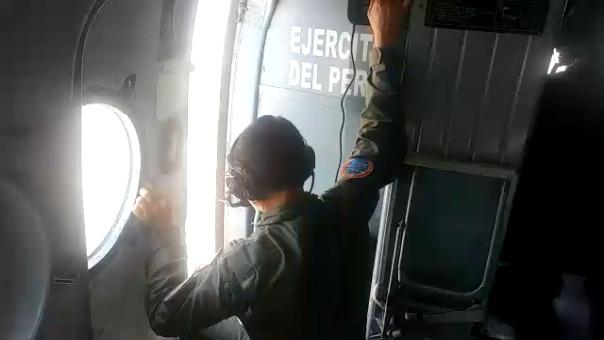Nuestro reportero Henry Urpeque participó en intervención para liquidar fuego en área natural protegida.