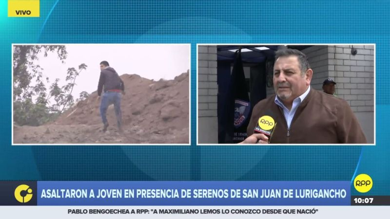 Los serenos de San Juan de Lurigancho serán sometidos a una investigación.