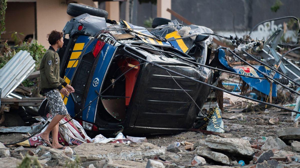Tras los dos terremotos que remecieron la isla de Célebes se han registrado decenas de réplicas.