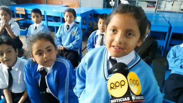 Alumna del colegio Liceo Trujillo.