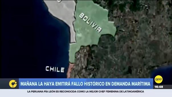 En 2013 Evo Morales realizó una demanda marítima al gobierno de Chile.
