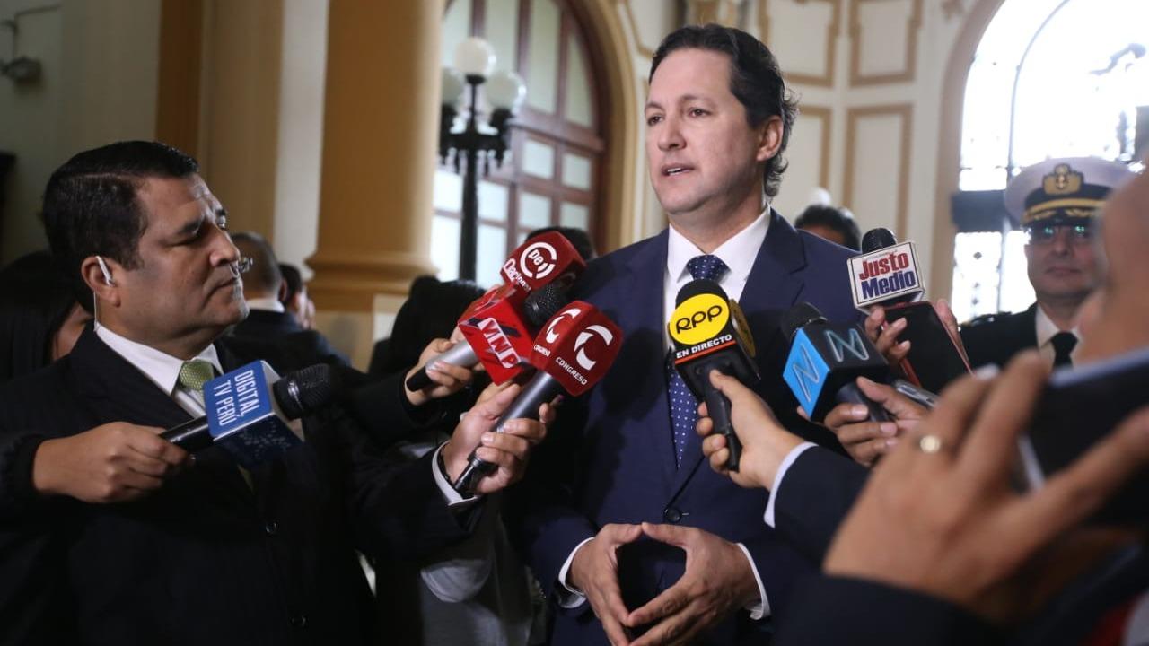 El presidente del Congreso también se refirió al incremento en los niveles de aprobación de Martín Vizcarra.