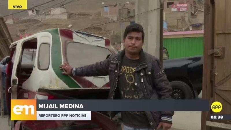 Naú Villavicencio hizo su denuncia a través del Rotafono de RPP Noticias.