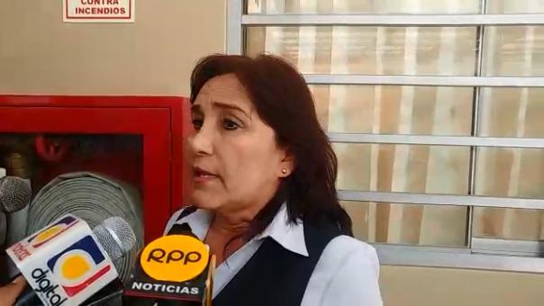 Profesora lamentó situación en pleno aniversario por los 100 años del colegio Rosario.