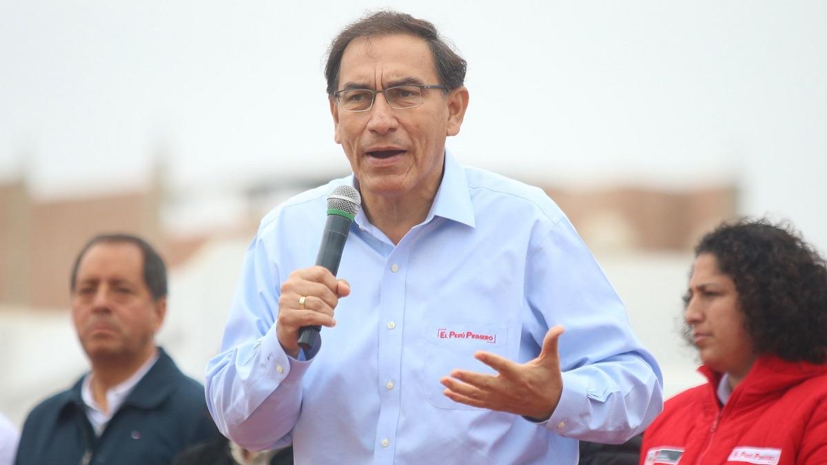 Vizcarra pidió la aprobación de las cuatro reformas.