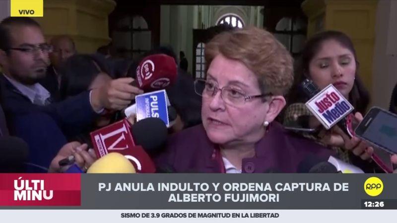 """Lourdes Alcorta dijo que la resolución judicial """"no tiene pies ni cabeza""""."""