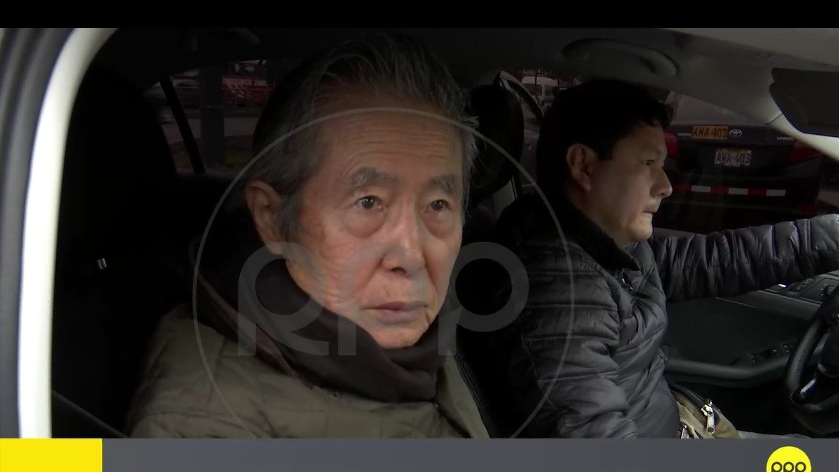 Fujimori declaró estas palabras el 22 de agosto.
