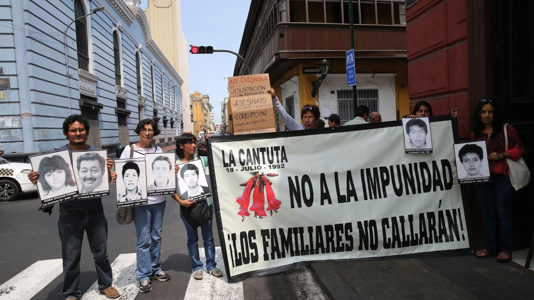 La abogada de los deudos de las víctimas de Barrios Altos y La Cantuta consideró que el indulto a Fujimori fue un canje para evitar la vacancia del expresidente Kuczynski.