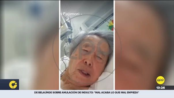 Poder Judicial anuló el indulto a Alberto Fujimori.