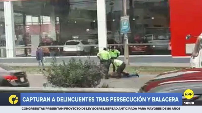 La balacera ocurrió altura de la avenida Separadora Industrial, en Salamanca.