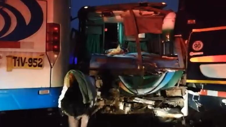 El conductor herido fue llevado a un hospital de Trujillo.