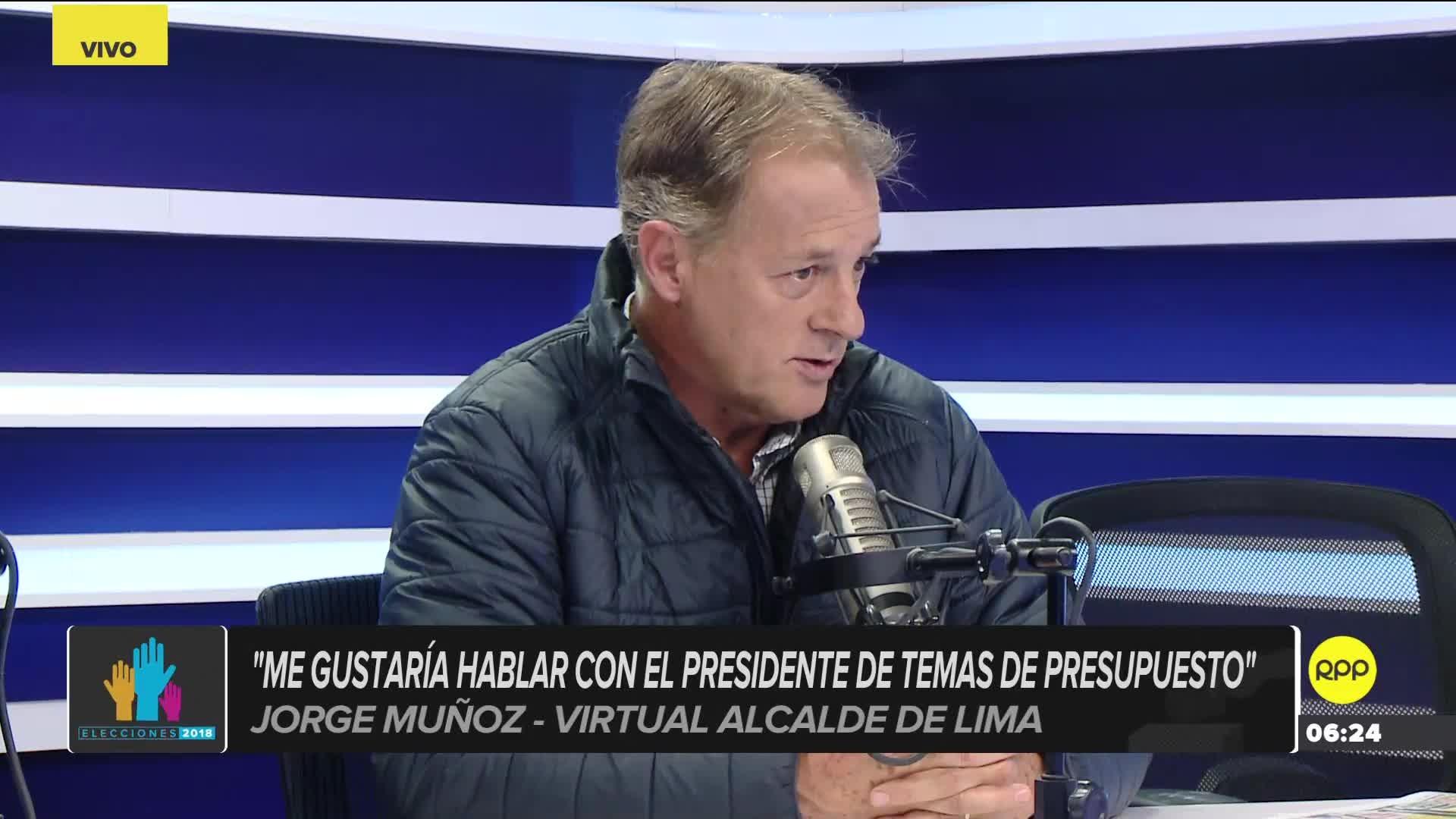 Jorge Muñoz en RPP.