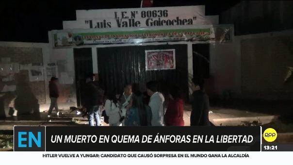 Un fallecido en enfrentamientos en La Libertad.