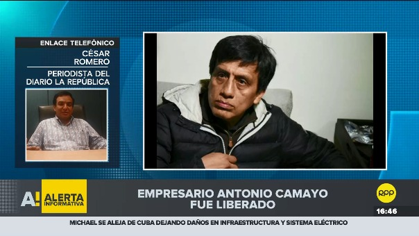 RPP se comunicó con el periodista César Romero quien dio la primicia en el diario La República.