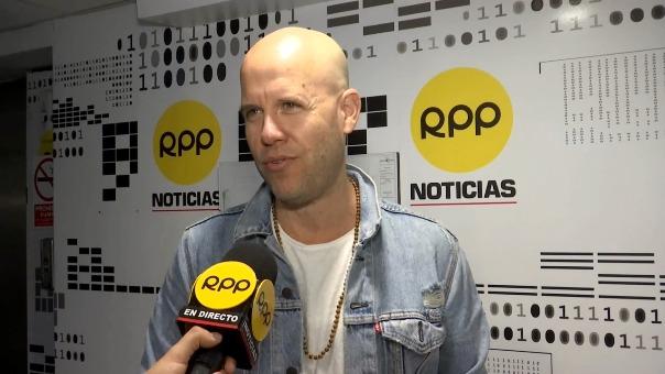 Gian Marco visitó RPP Noticias con su nuevo disco