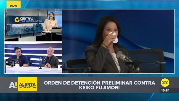 Orden de detención preliminar contra Keiko Fujimori