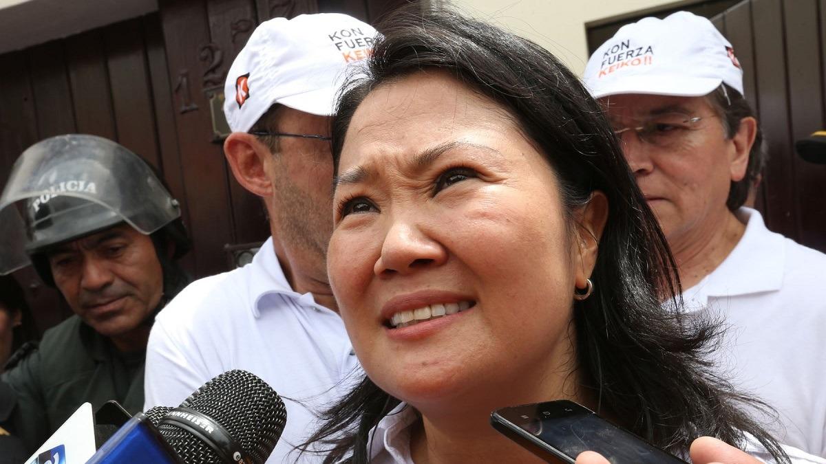 Keiko Fujimori permanece en la sede de la Prefectura.