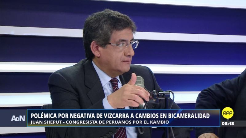 Juan Sheput estuvo esta mañana en Ampliación de Noticias.