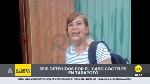 Se trata de la gerente de desarrollo social del gobierno regional de San Martín, Aurora Torrejón Riva, quien se mostró sorprendida por su presencia en la lista a la que según ella no colaboró.