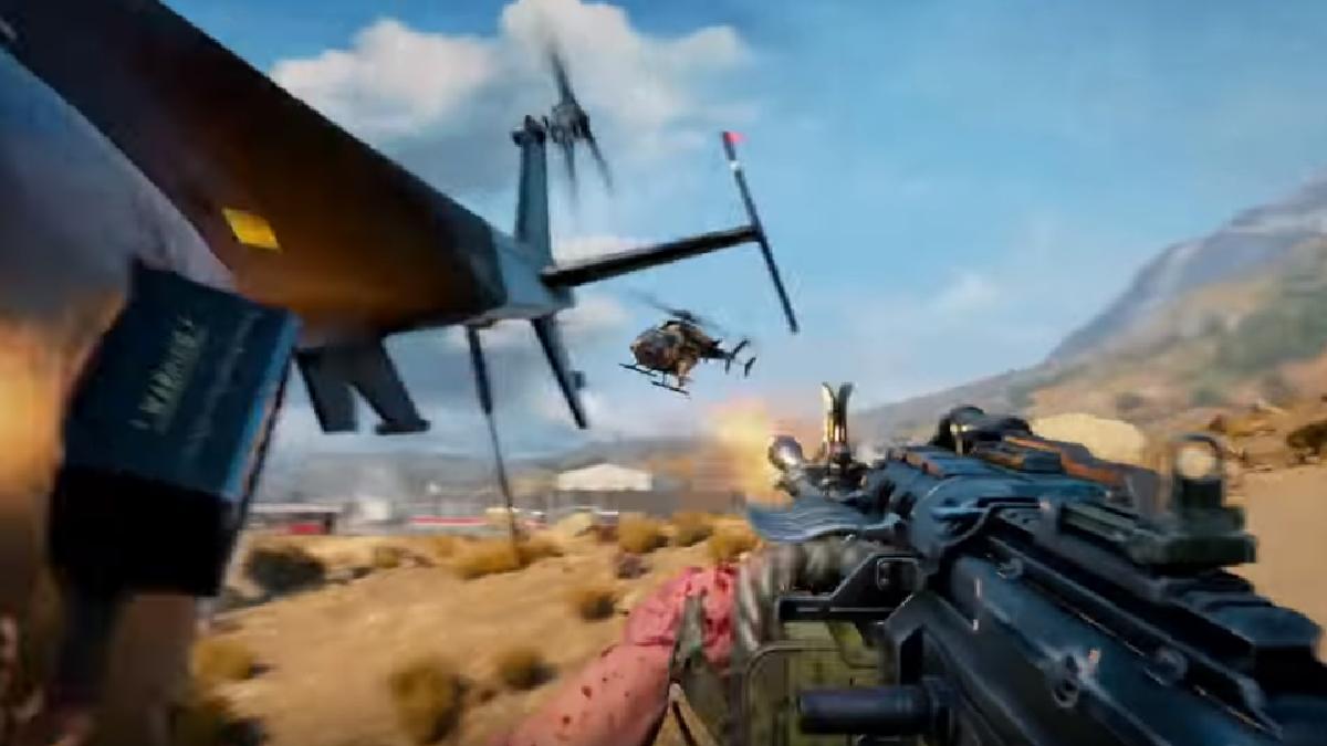 El combate aereo es algo nunca antes visto en un Battle Royale.