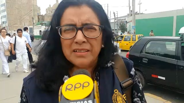 Fiscal Antidrogas Elvira Aldana.