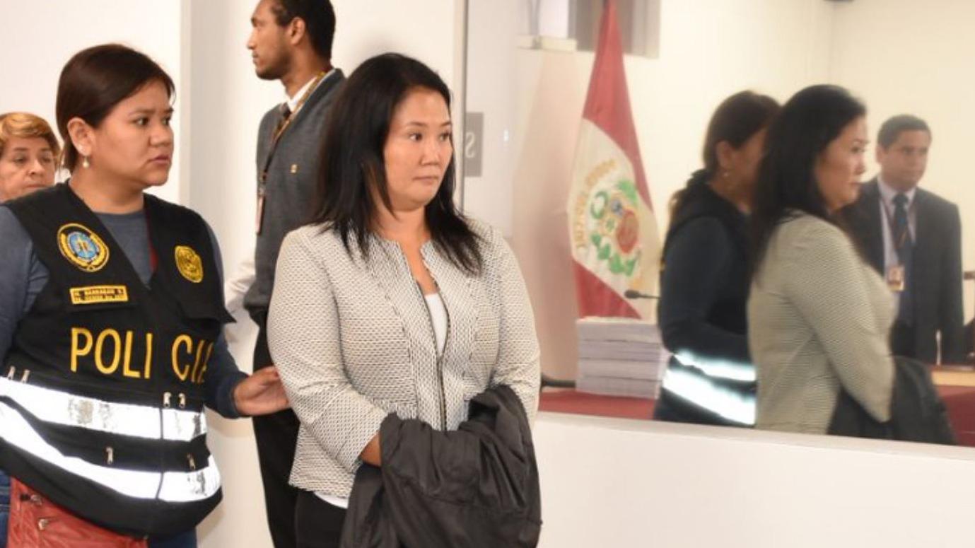 """Giuliana Loza tildó de """"arbitraria y desproporcionada"""" la medida dictada contra Keiko Fujimori."""