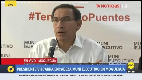 Martín Vizcarra en MUNI Ejecutivo.