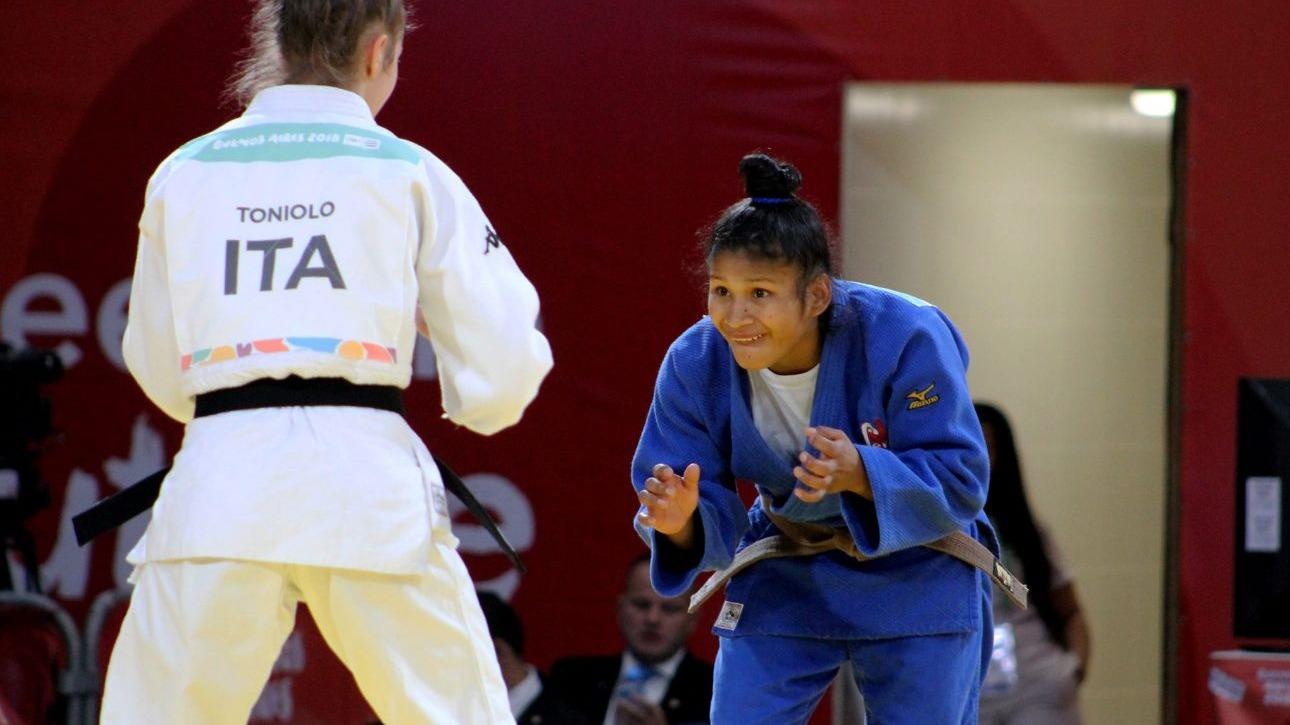 Noemí Huayhuameza habló tras su participación en los Juegos Olímpicos de la Juventud